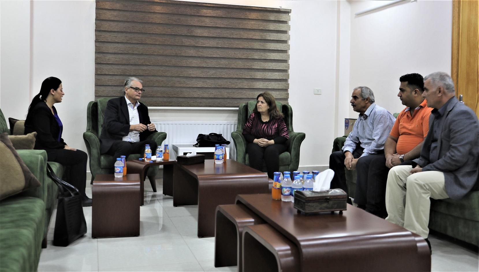 Шведская делегация встретилась с ВПЛ из Африна