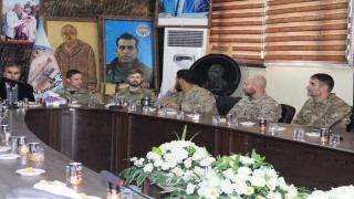Встреча шейхов и старейшин Ракки с представителями Международной Коалиции