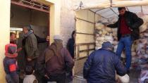 Cоветы Африна и Шахбы продолжают оказывать гуманитарную помощь беженцам
