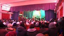 Спектакль под названием «Священная битва при Гераполисе» рассказывает об истории города Манбидж
