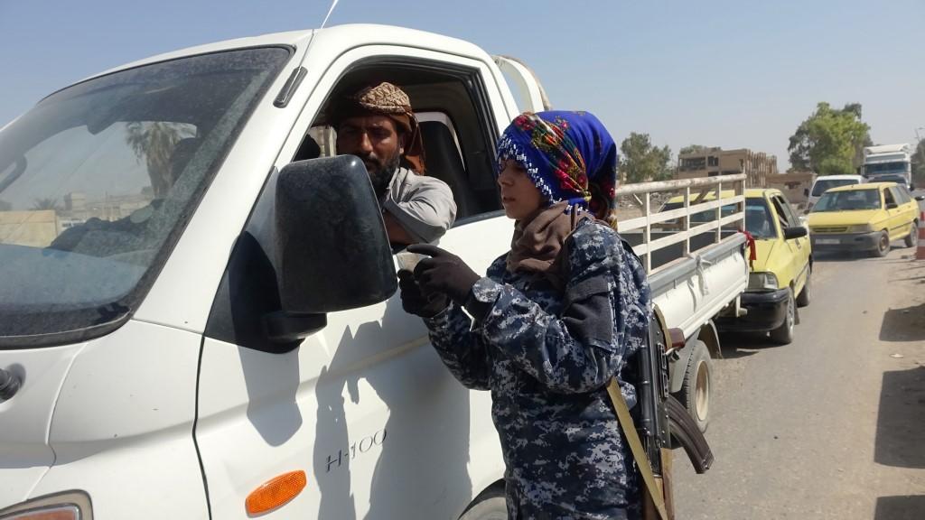Reqalı kadınlar kentin güvenliğini sağlıyor