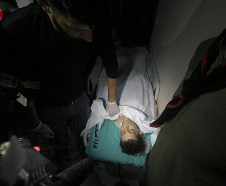 İsrail askerlerinin açtığı ateş sonucu bir çocuk yaşamını yitirdi