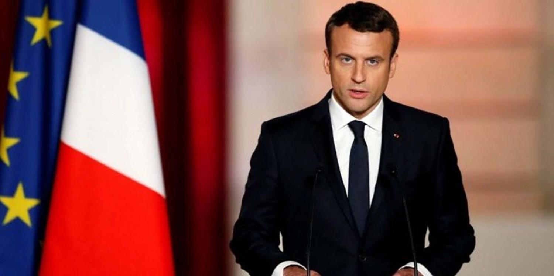 Macron, Minbic'deki saldırı için başsağlığı mesajı yayınladı