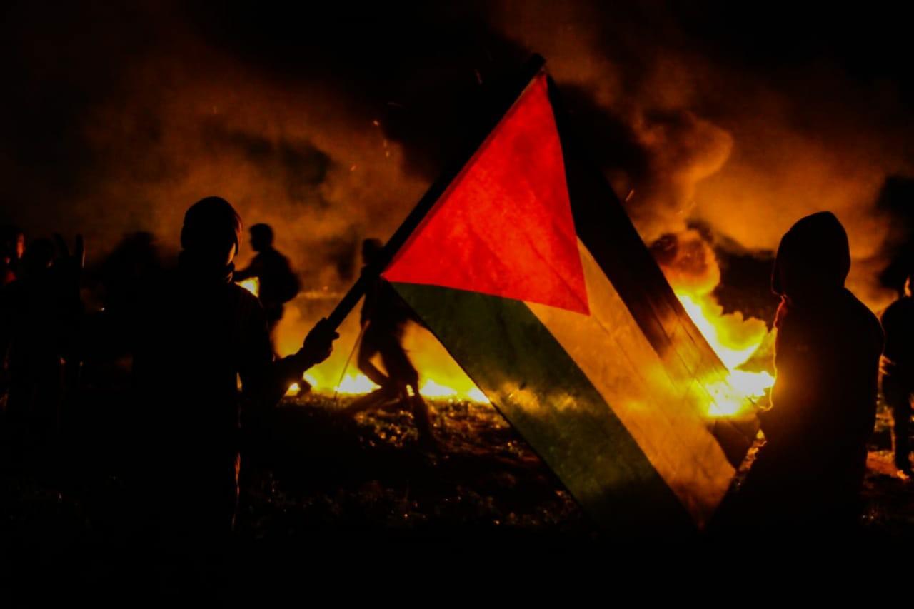 Gazze'de gece eylemleri yeniden başladı