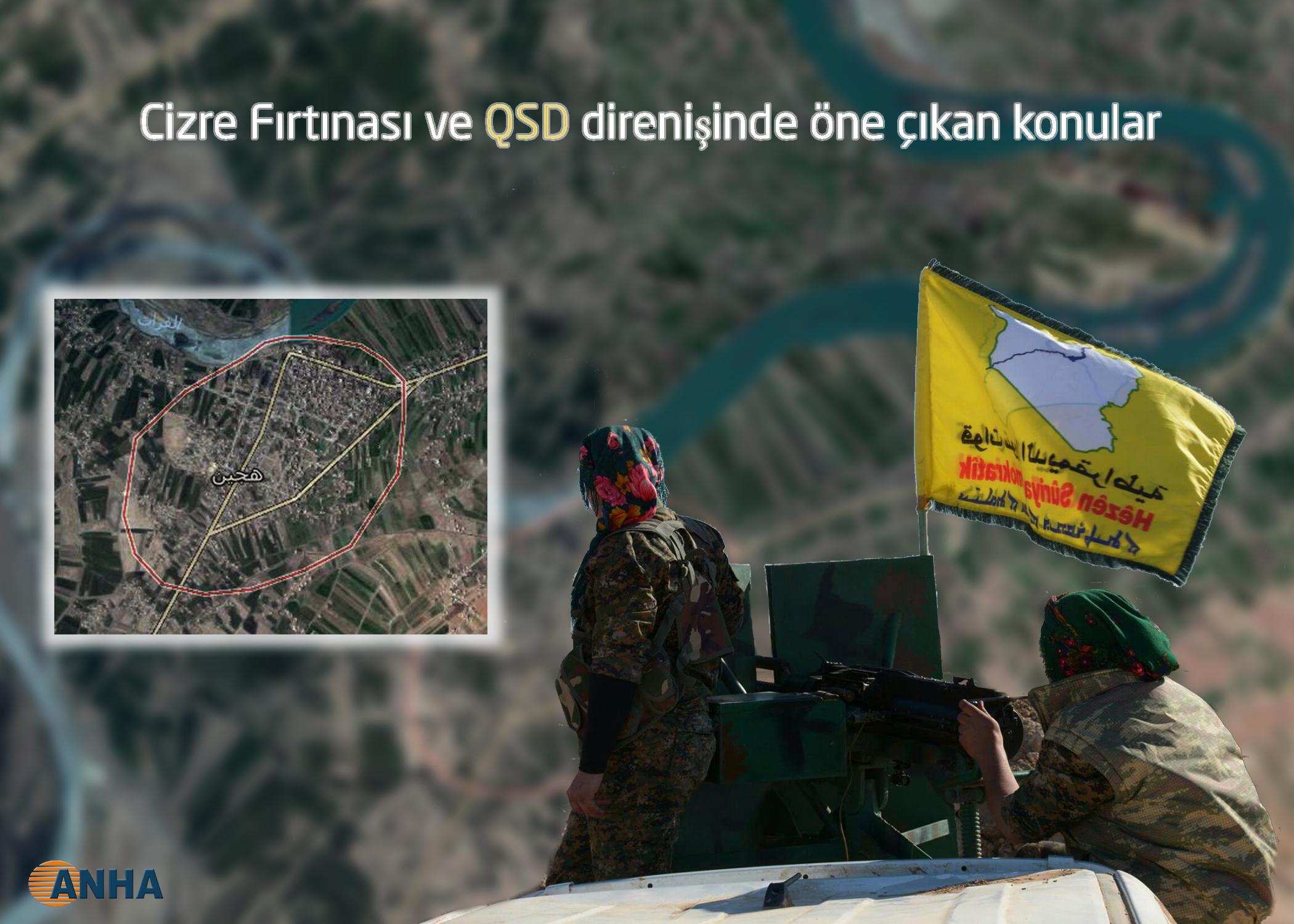 QSD Hecin'e operasyon hazırlığında