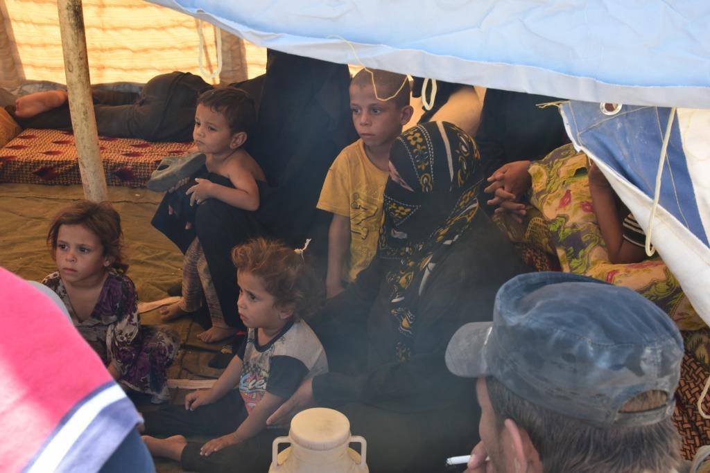 DAİŞ'in son işgal alanından kurtarılan sivillerin sayısı artıyor