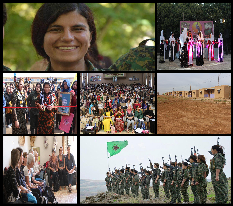 Kuzey ve Doğu Suriyeli kadınların zafer yılı