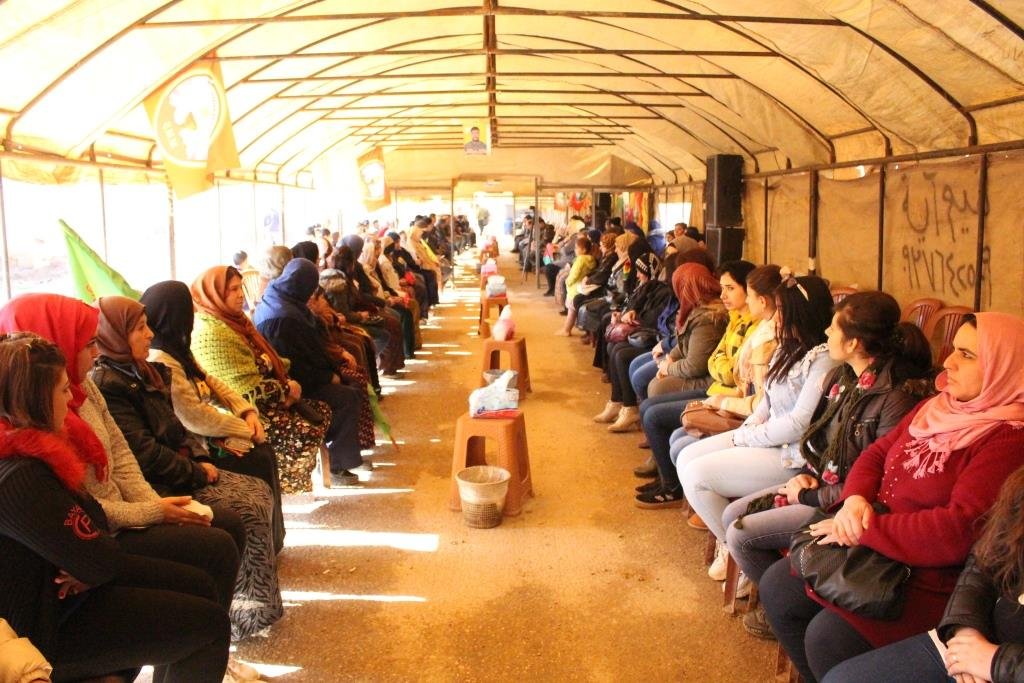 QSD'li Şehit Maşoq Qenas için taziye kuruldu