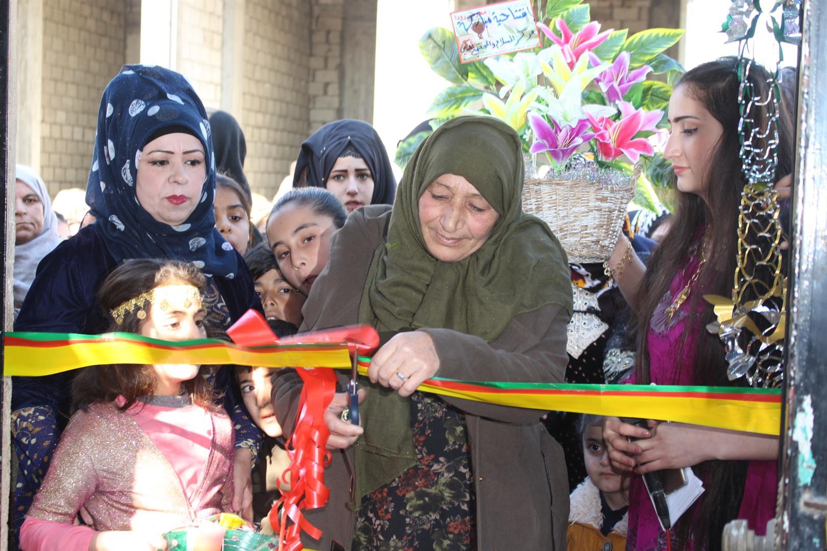 Özgür Kadın Vakfı, Hesekê'de büro açtı