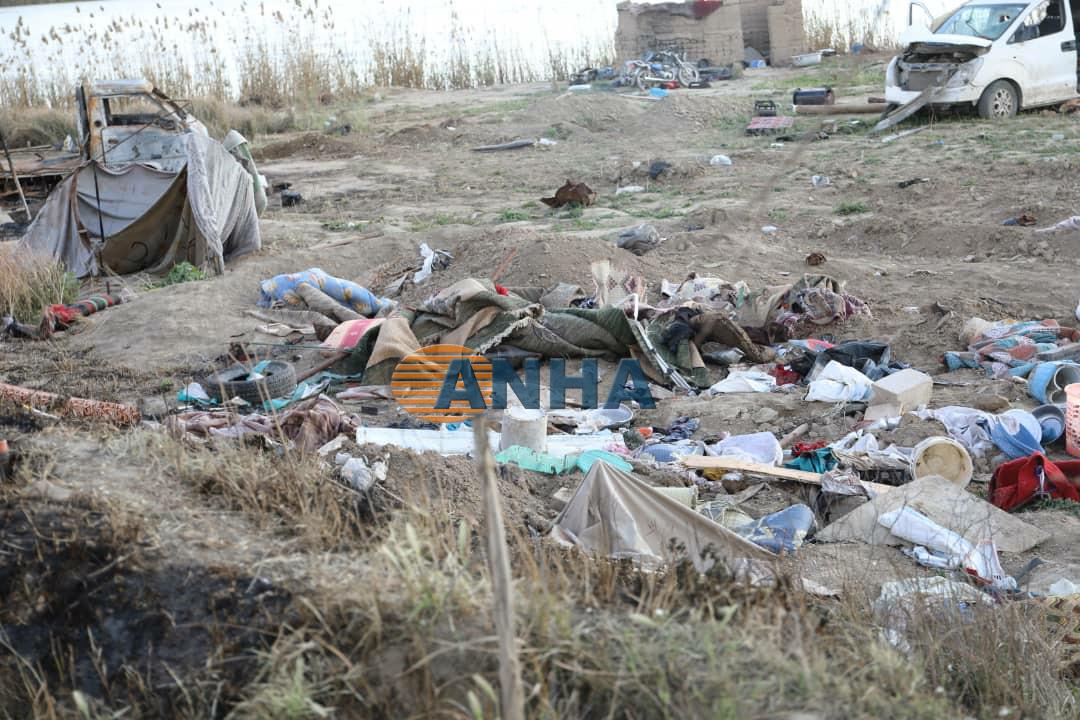 Görüntülerle DAİŞ'in Baxoz kampında geride bıraktıkları