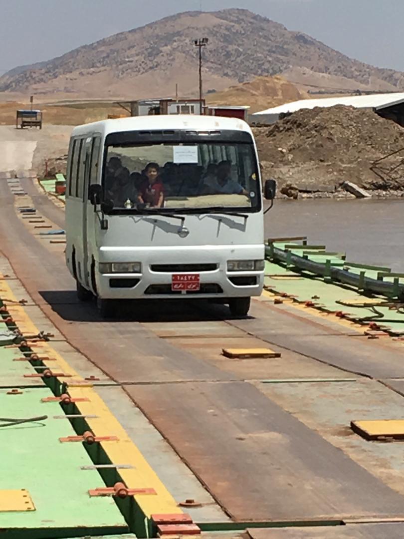 Sêmalka Sınır Kapısı Köprüsü ulaşıma açıldı