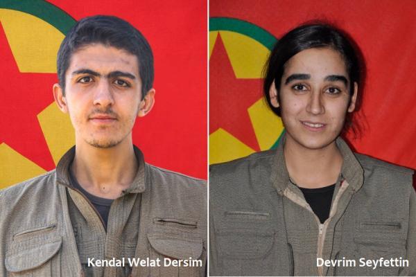 HPG Heftanin'de şehit düşen 2 gerillanın kimliklerini açıkladı