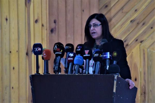 MSD Eş Başkanı Emine Ömer: Yönetimin çalışmalarını genişleteceğiz