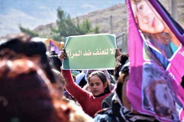 Reqa, Minbic, Halep ve Hesekê'de 25 Kasım eylemleri