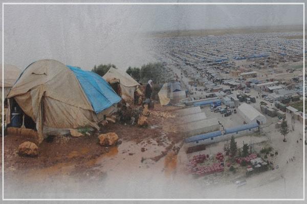Kuzey ve Doğu Suriye'de bir milyon göçmen yardımlardan mahrum