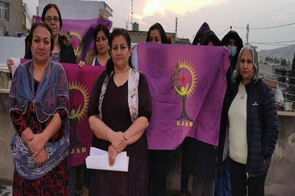 Rojhilatlı kadınlardan 'diktatörü yargılamak için 100 sebep' kampanyasına destek