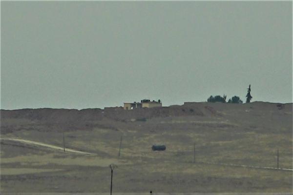 İşgalci Türk ordusu Til Temir ile Zirgan arasında askeri sevkiyat yapıyor