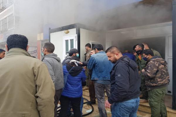 Stêrk Tv stüdyosunda yangın-YENİLENDİ