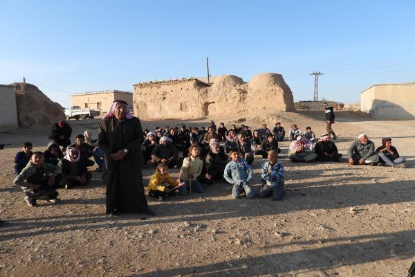 Fatsa köyü sakinleri: Tüm kalbimizle QSD'nin yanındayız