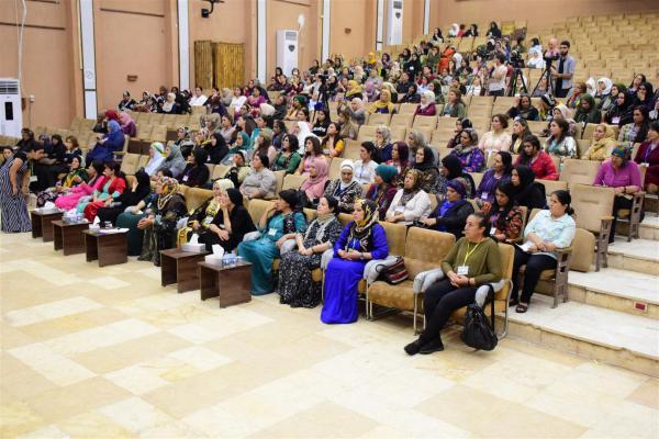 Şehit Aileleri Kadın Meclisi'nin 2'nci konferansı sona erdi
