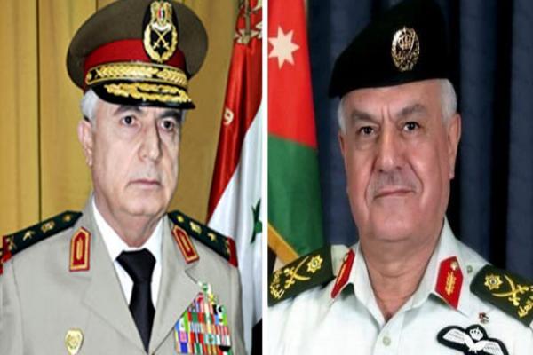 Şam Savunma Bakanı Ürdün'ü ziyaret etti